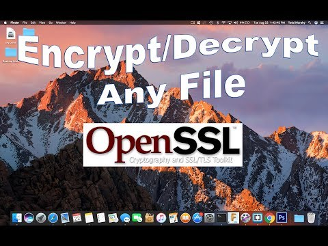 How to Encrypt Any File on your Mac using Terminal (No Download!)