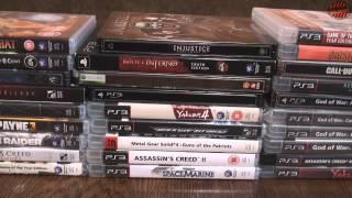 Моя коллекция игр PS3 2008- 2014