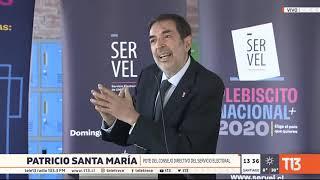 Presidente del Consejo Directivo del Servel aclara dudas sobre el Plebiscito 2020