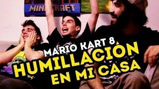 HUMILLACIÓN EN MI CASA - Mario Kart 8 (Wii U)