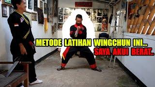 Metode Latihan Berat Dan Butuh Waktu Lama... Herri Pras Coba Latihan Level Berat Wingchun