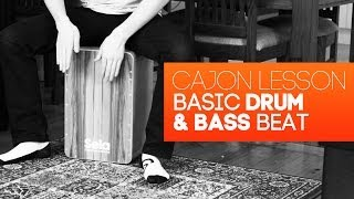 Cajon Tutorial: Drum & Bass Beat Lesson