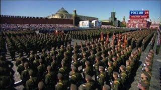 A Mosca la parata sulla Piazza Rossa per la vittoria sul nazismo