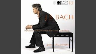 Concerto in G minor, after Telemann, BWV 985: Adagio