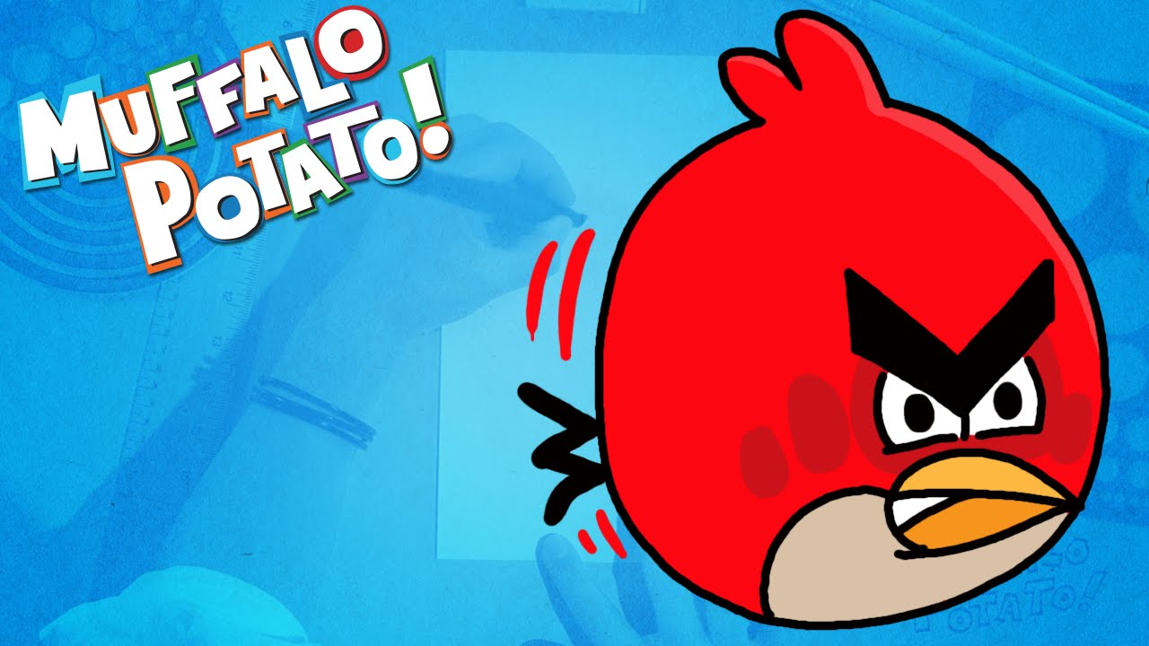How To Draw Angry Birds Using Letters And Numbers With Muffalo