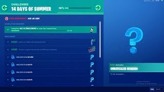 FORTNITE 14 DAYS OF SUMMER DAY 3 CHALLENGE! NEW FREE ITEMS!