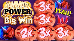 Mammoth Power Slot Machine 1st Spin Bonus & BIG WIN | Lock It Link Slot Machine Max Bet Bonus