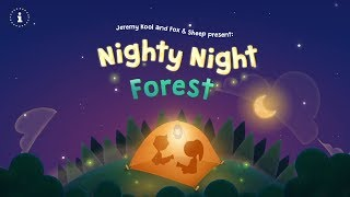 Nighty Night Forest | Lovely bedtime story app for kids & toddlers (by Fox & Sheep)