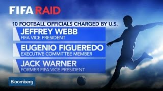 10 FIFA Officials Charged by U.S. Prosecutors