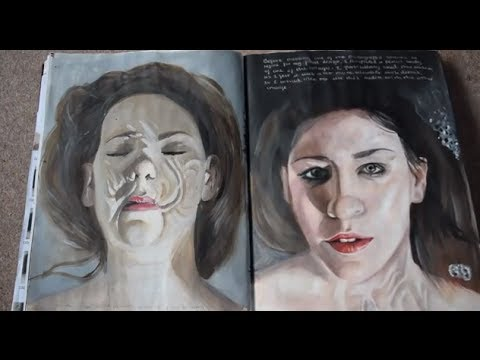 A Level Art Sketchbook   Coursework Project  AS    YouTube YouTube