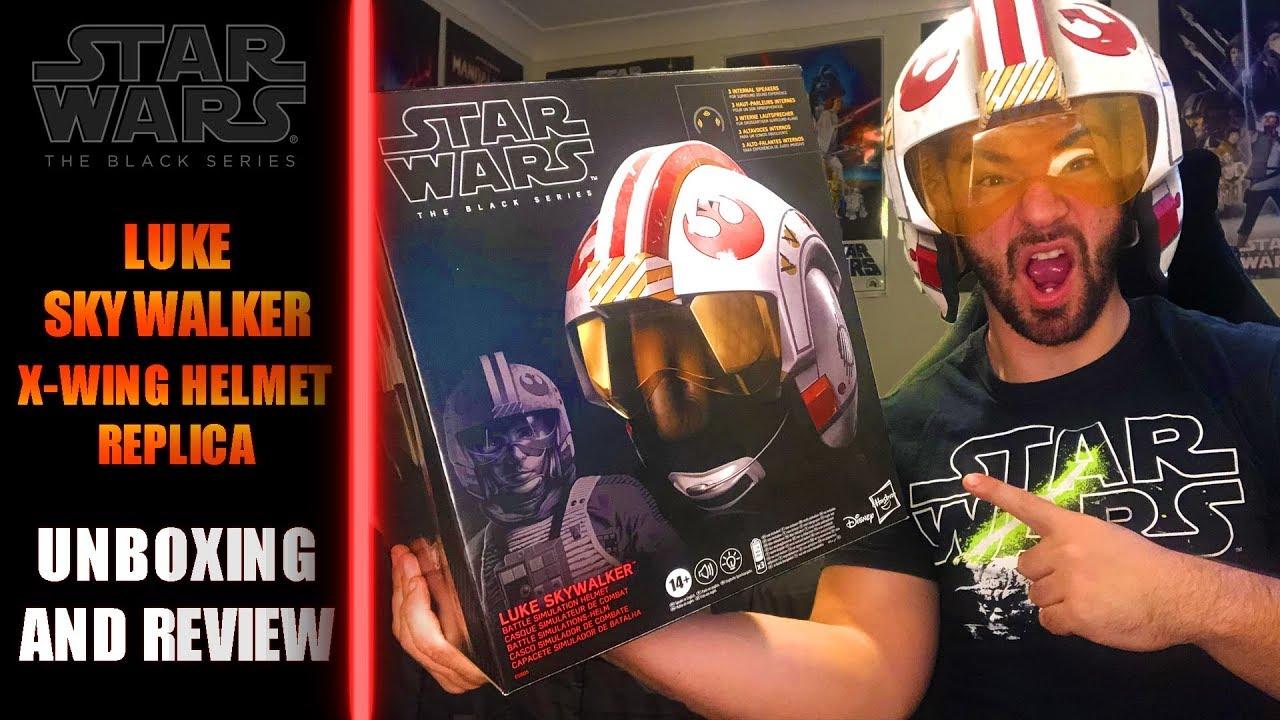 Star Wars The Black Series Luke Skywalker Battle Simulation Electronic Helmet