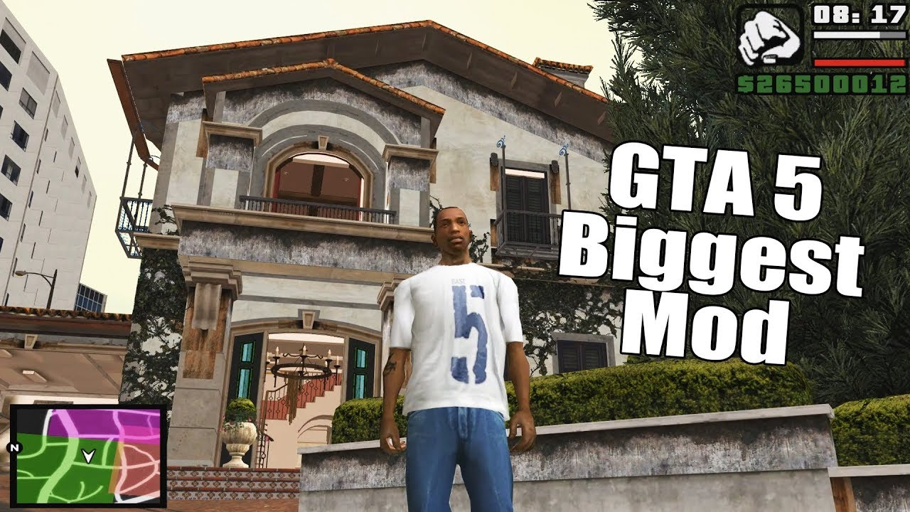 GTA 5 in GTA San Andreas