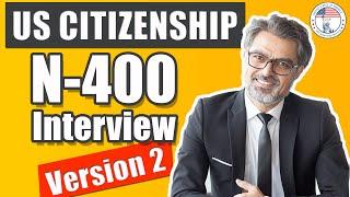 U.S. Citizenship Interview and Exam (Entrevista Y Examen De Ciudadanía Estadounidense)