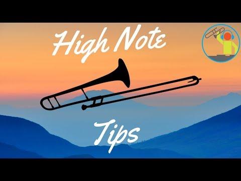 Tips for Hitting High Notes on Trombone