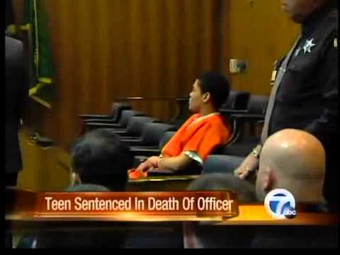 Teen sentenced in death of officer