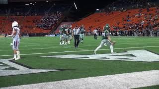 Hawaii Football Highlights vs. Fresno State 11-11-17