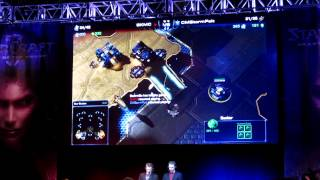 Polt vs. MC replay take command @ Starcraft 2: Heart of the Swarm Launch Event (Irvine, CA)