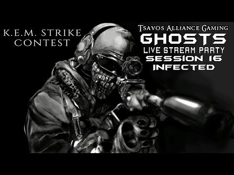 ☢GHOSTS: Infected - Session 16 (Xbox 360 Servers) K.E.M. STRIKE CONTEST