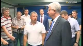 В Краснодаре открыли новый зал для тренировок городской федерации бокса