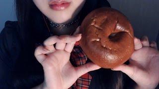 Korean Asmr 한국어 베이글과 러스크 이팅 Bagel And Rusk Eating Sound