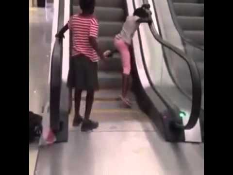 a zambian kid from the village escalating for the first time@southgatemall lusaka