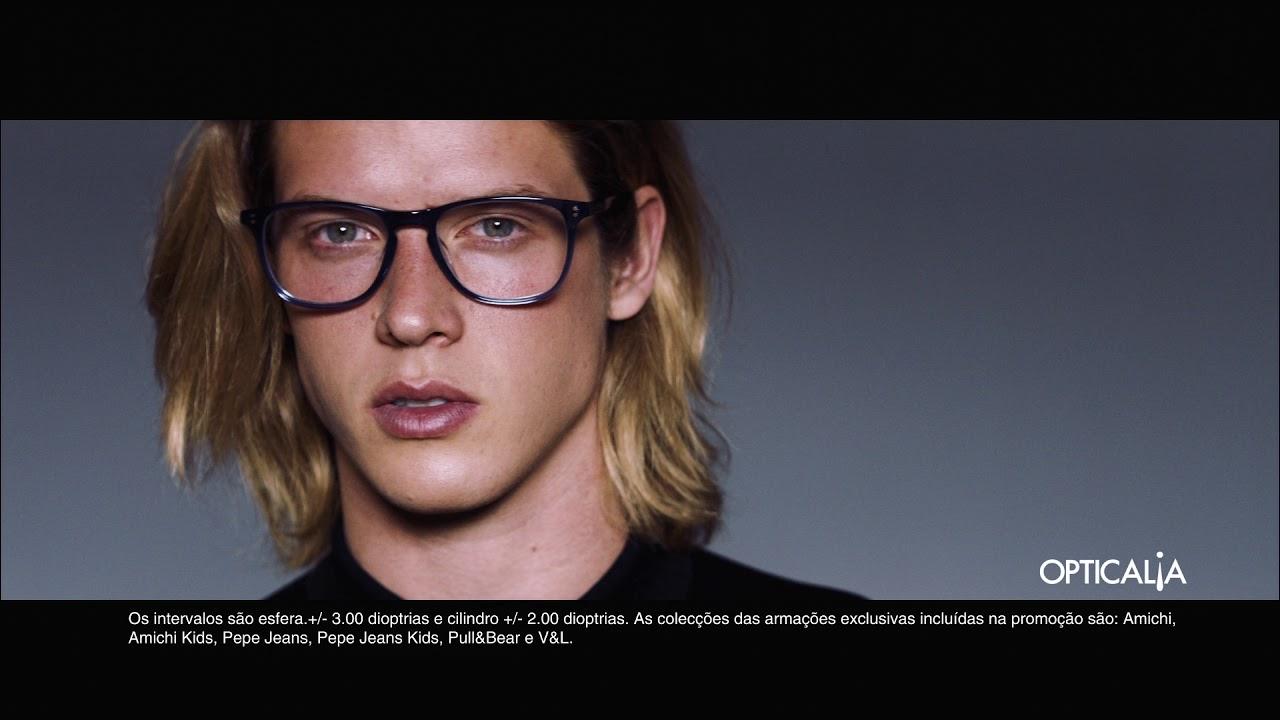 0c094d7669 2 Óculos de marca com lentes incluídas por 99€   Opticalia