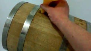 Как замачивать дубовую бочку