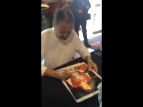 Bill Barber FLYERS Signing Autographs Team Derek