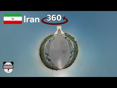 360° Azadi Tower (برج آزادی‎‎ ‎‎‎‎) | Tehran, Iran
