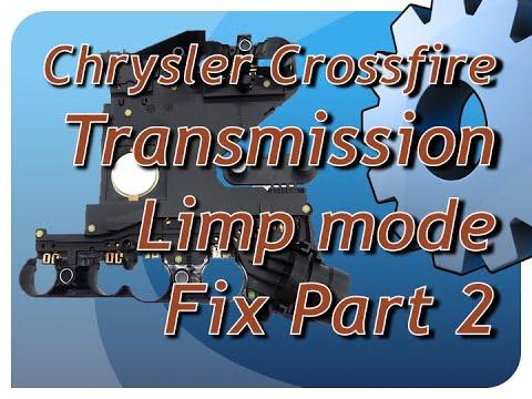 Chrysler Crossfire Transmission Limp Mode Fix Pt 2