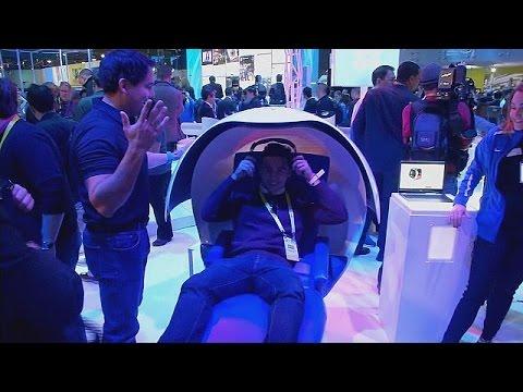 l 39 imagination pour seule limite au salon high tech de las vegas hi tech youtube. Black Bedroom Furniture Sets. Home Design Ideas