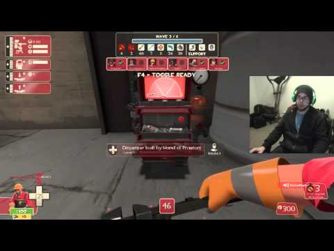 TF2 MVM Two Cities Full Tour - [2/4] Empire Escalation  - Veteran's Group