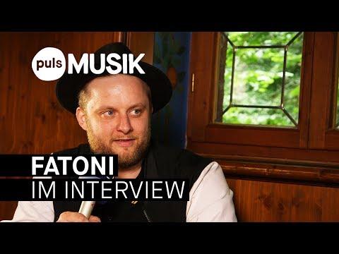 Fatoni ist Rapper, aber wäre manchmal gerne Gärtner (Interview beim PULS Open Air 2017)