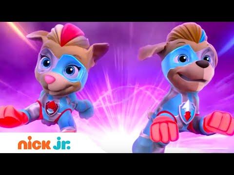 Mighty Pups: Meet The Mighty Twins - Trailer & Sneak Peek | Paw Patrol | Nick Jr.
