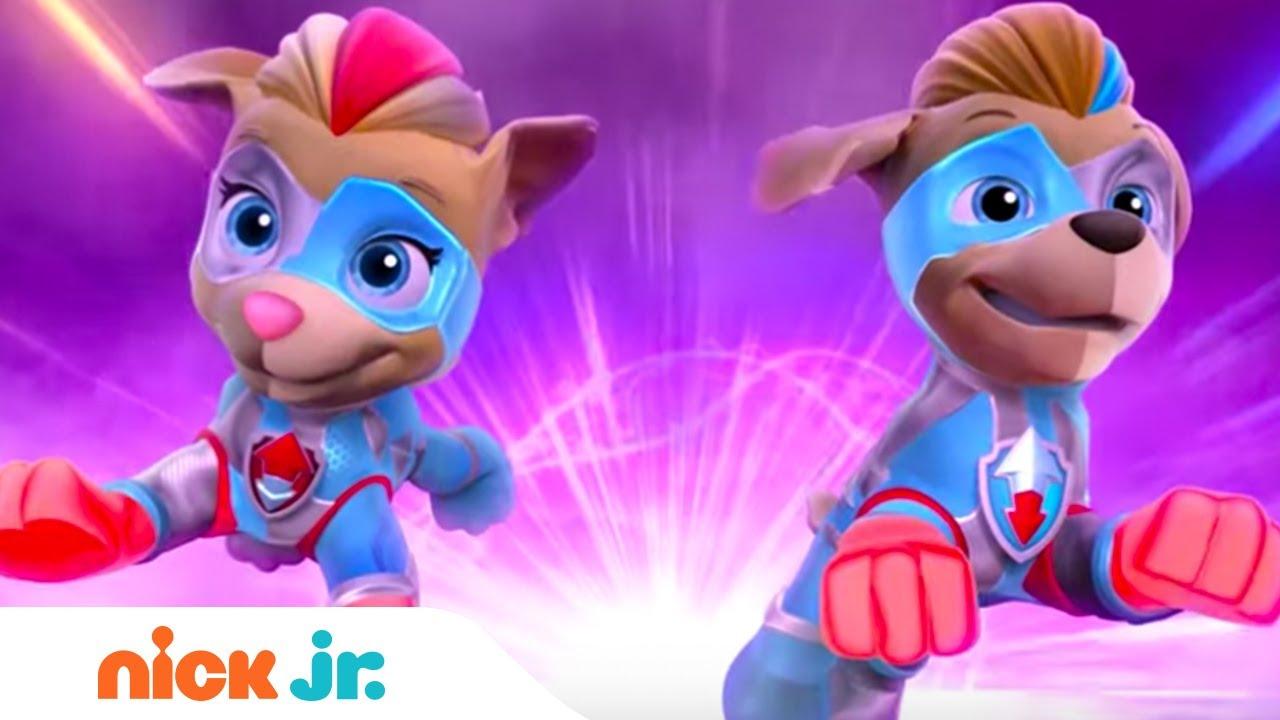 Mighty Pups: Meet the Mighty Twins - Trailer & Sneak Peek | Paw Patrol |  Nick Jr