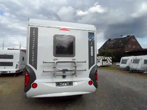knaus sport traveller 505 caravan krokor youtube. Black Bedroom Furniture Sets. Home Design Ideas