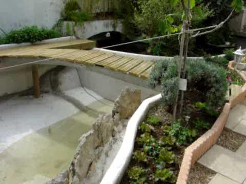 Construction du bassin 2008 youtube - Construction bassin de jardin ...