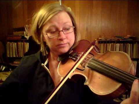 G Minor Harmonic scale for violin