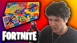 FORTNITE BEAN BOOZLED CHALLENGE!! (DISGUSTING)