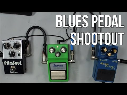 Blues Guitar Tone with 3 Different Pedals - Blues Pedal Shootout