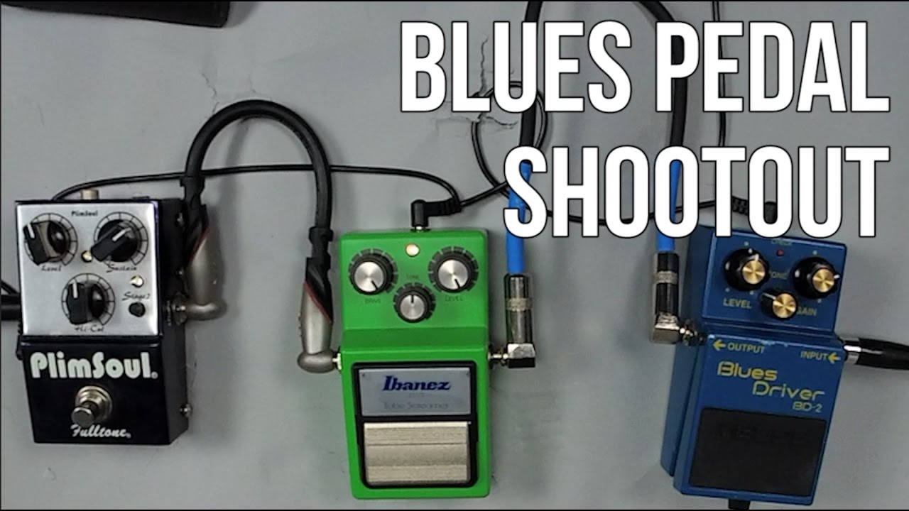 blues guitar tone with 3 different pedals blues pedal shootout youtube. Black Bedroom Furniture Sets. Home Design Ideas