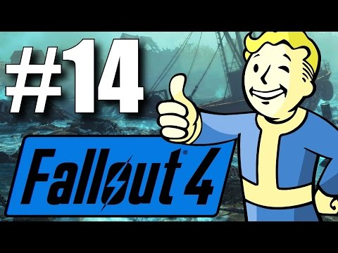 Fallout 4 Far Harbor DLC - Part 14 - Hunting the Missing Synth! (New Survival Mode)