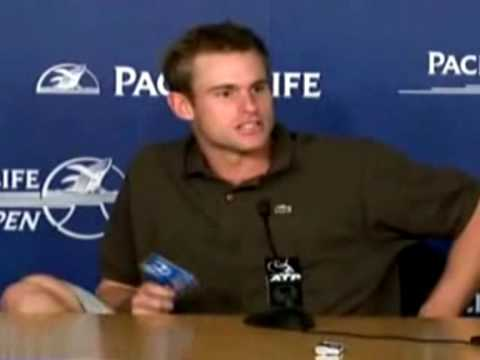 Andy Roddick Funny Moments :D