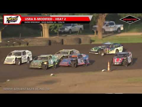 B-Modified Heats - Rapid Speedway - 7/26/19