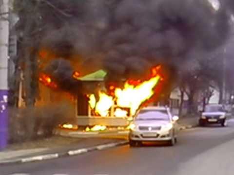 Пожар в Орле