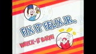 Game | 1982 Litwak s Arcade Commercial featuring the original Fix It Felix, Jr. Game. | 1982 Litwak s Arcade Commercial featuring the original Fix It Felix, Jr. Game.