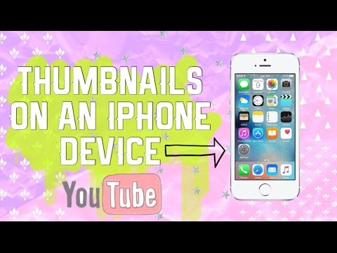 how to change a thumbnail on youtube ipad