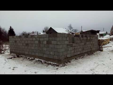 строительство дома из пескобетонных блоков