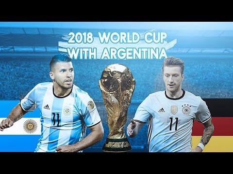 WORLD CUP QUARTER FINAL!! FIFA 16: 2018 World Cup w/ Argentina! - QUARTER FINAL VS GERMANY!!! - #3