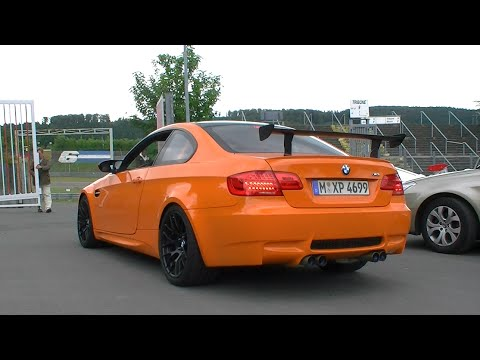Bmw M3 Gts Acceleration Sound Youtube